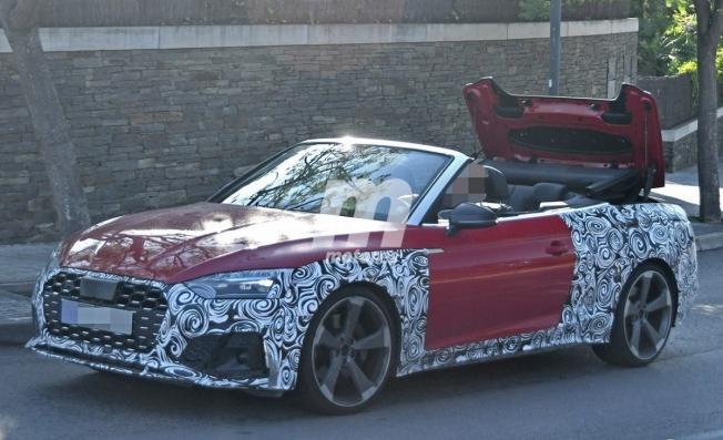 Audi S5 Cabrio 2020 - foto espía