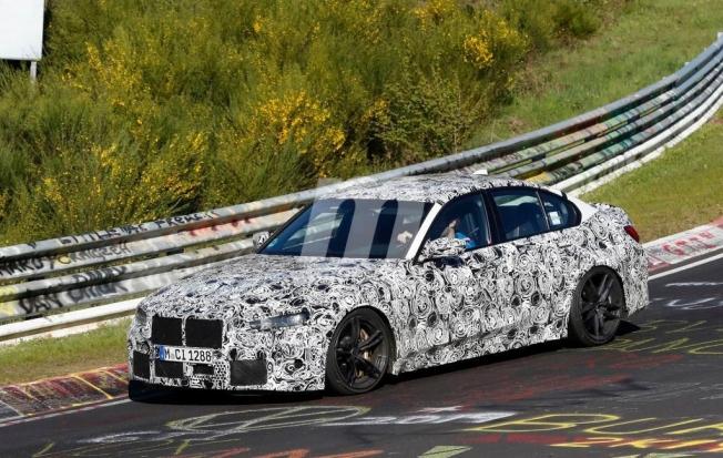 BMW M3 2020 - foto espía