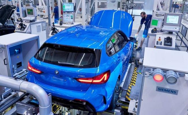 BMW Serie 1 2019 - producción