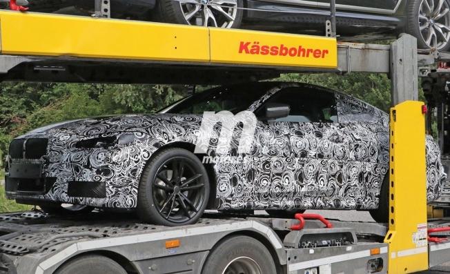BMW Serie 4 Coupé 2020 - foto espía lateral