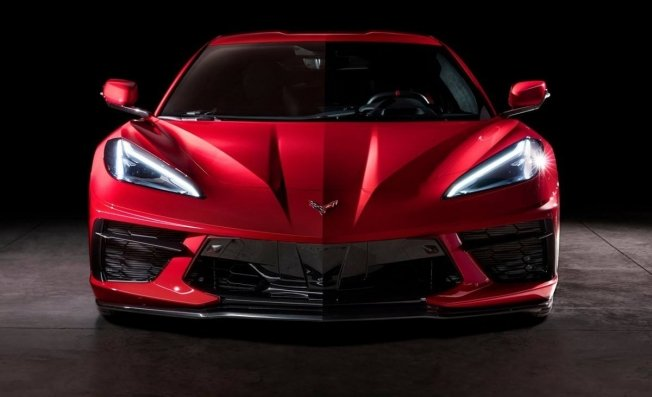 Chevrolet Corvette C8 Stingray - frontal