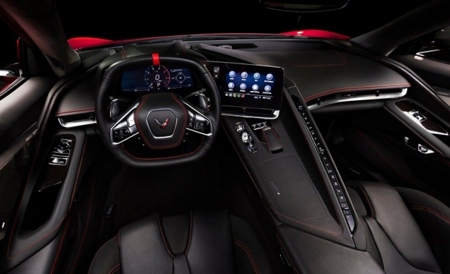 Chevrolet Corvette C8 Stingray - interior