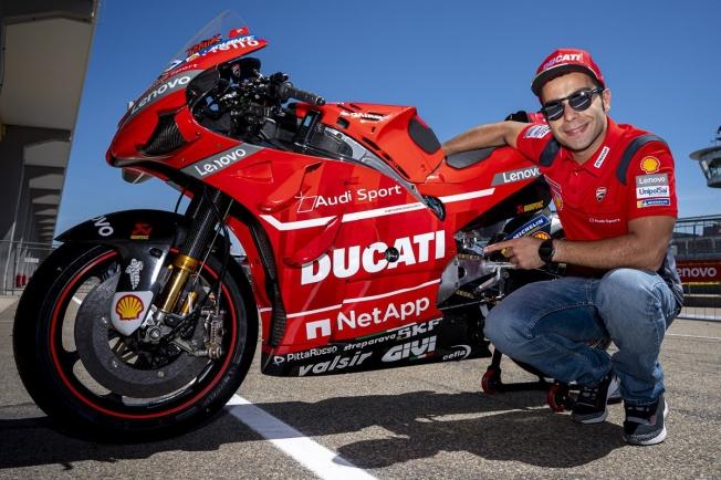 Danilo Petrucci renueva con Ducati de cara a MotoGP 2020
