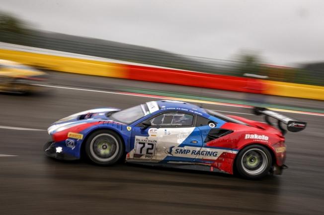 Miguel Molina roza el título de la Endurance Cup tras Spa