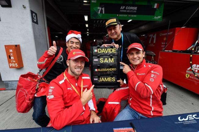 Ferrari duda si mantener a Sam Bird en su programa GTE