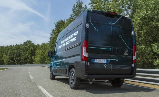 Fiat Ducato Electric - posterior