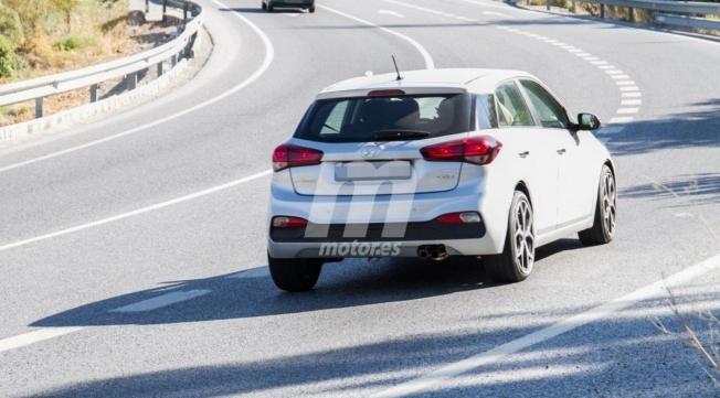 Hyundai i20 N - foto espía posterior