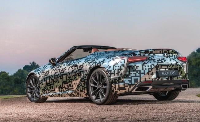 Lexus LC Cabrio - posterior