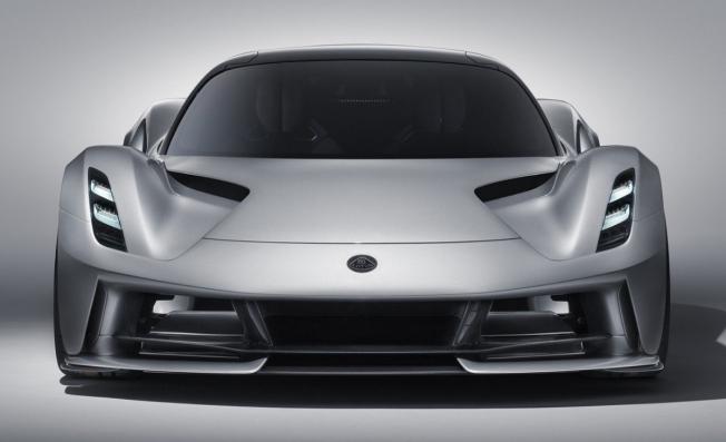 Lotus Evija - frontal