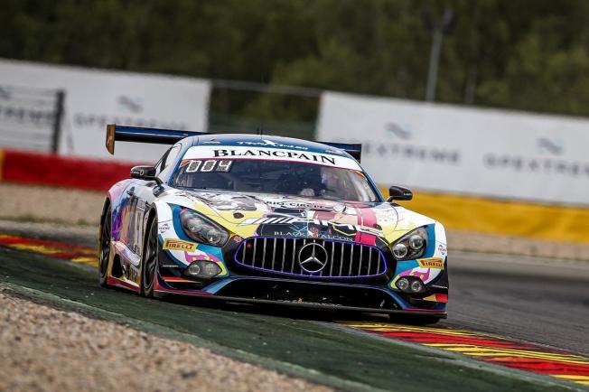 Maro Engel logra la superpole en Spa con el Mercedes #4