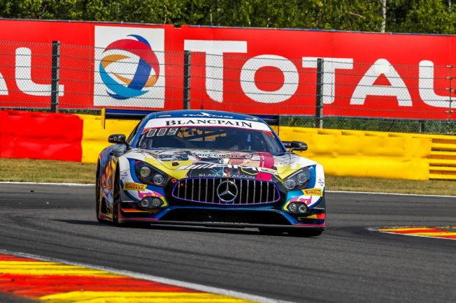 El Mercedes #4 lidera el paso a la superpole en Spa