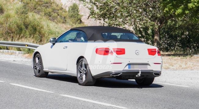 Mercedes Clase E Cabrio 2020 - foto espía posterior