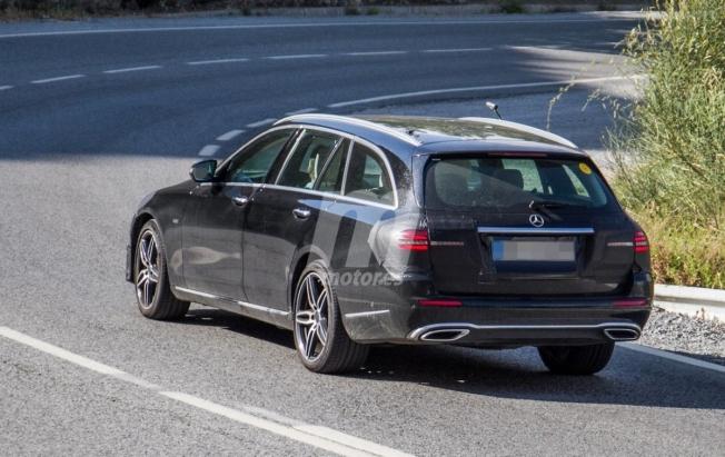 Mercedes Clase E Estate 2020 - foto espía posterior