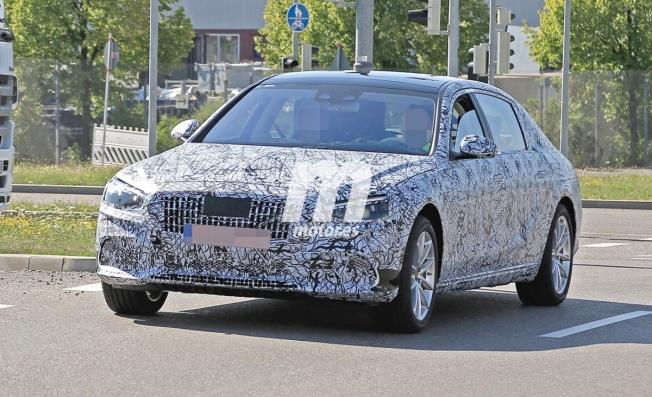 Mercedes-Maybach Clase S 2020 - foto espía