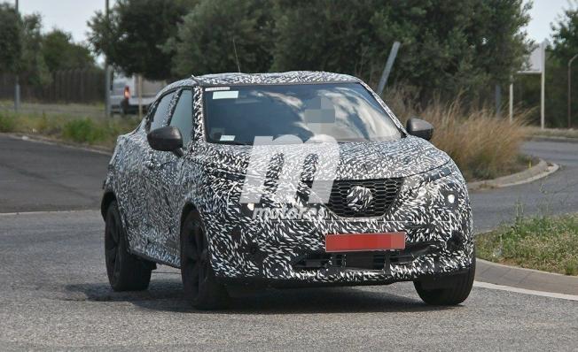 Nissan Juke 2020 - foto espía