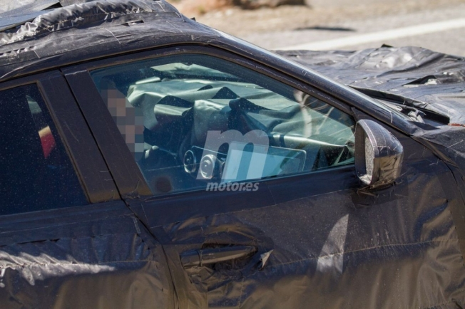 Nissan Juke 2020 - foto espía interior