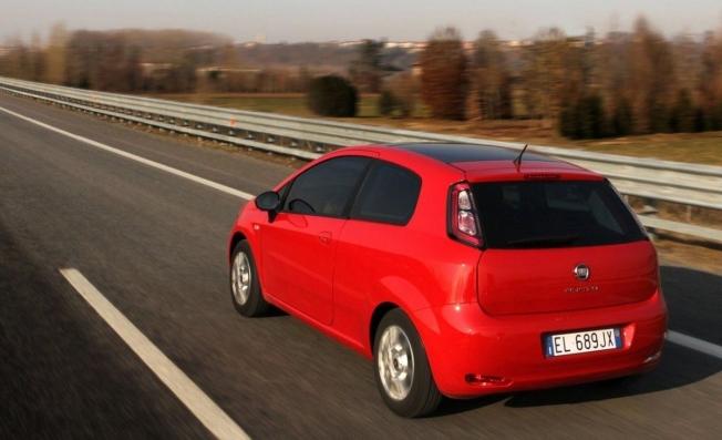 Fiat Punto - posterior