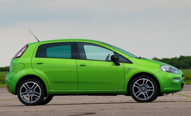 Fiat Punto - lateral