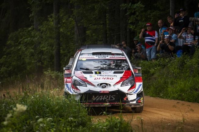 Ott Tänak defiende liderato en Finlandia, 'casa' de Toyota