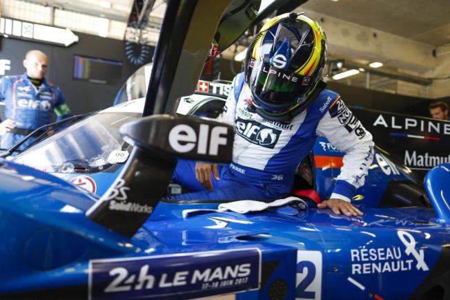 Pierre Ragues, tercer piloto de Signatech Alpine en el WEC