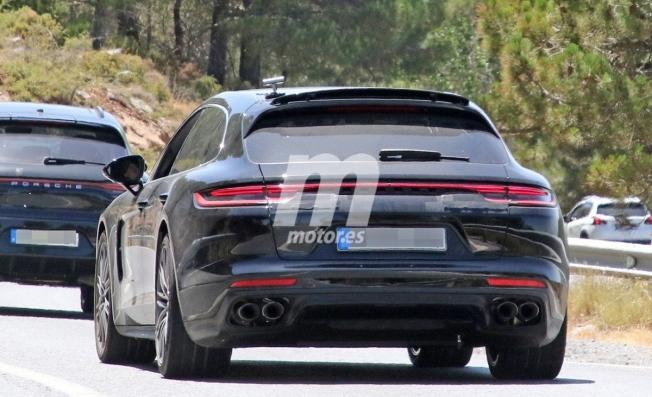 Porsche Panamera Sport Turismo 2020 - foto espía posterior