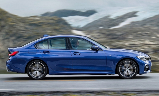 BMW Serie 3 2019 - lateral