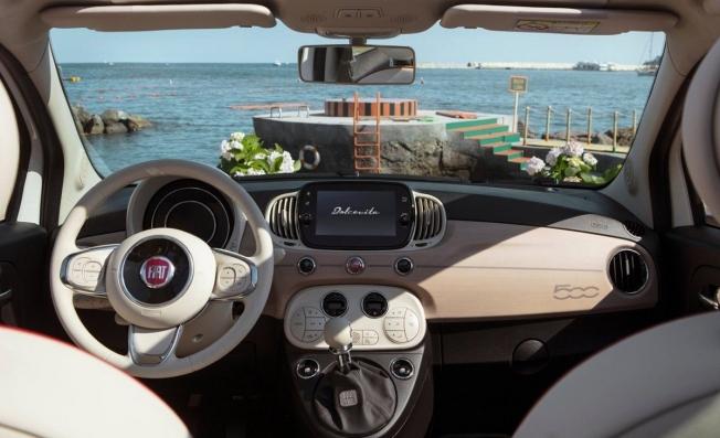 Fiat 500 Dolcevita - interior