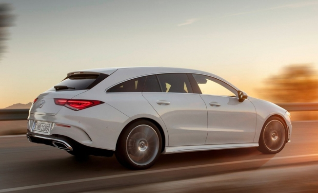 Mercedes CLA Shooting Brake 2019 - posterior