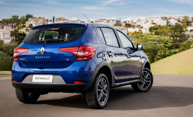 Renault Sandero 2020 - posterior