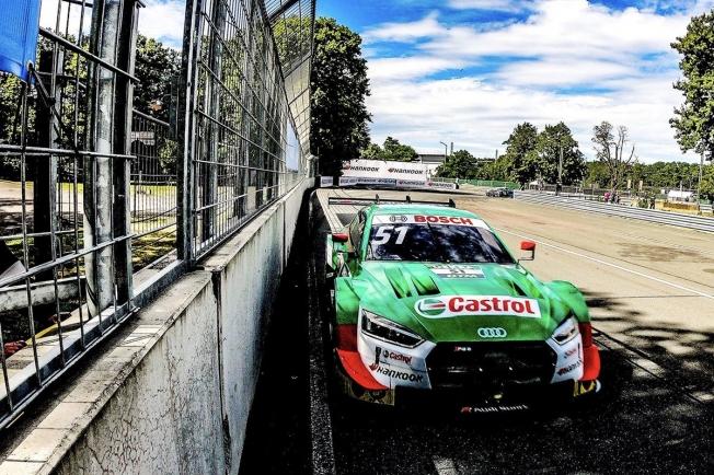 René Rast tira de estrategia para ganar en Norisring