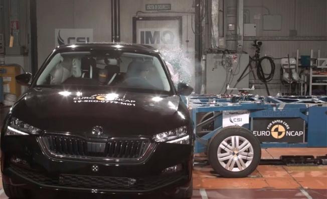 Skoda Scala en las pruebas Euro NCAP