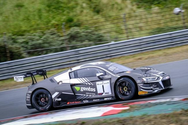 Clara victoria del Audi #25 de Haase y Gachet en Zandvoort