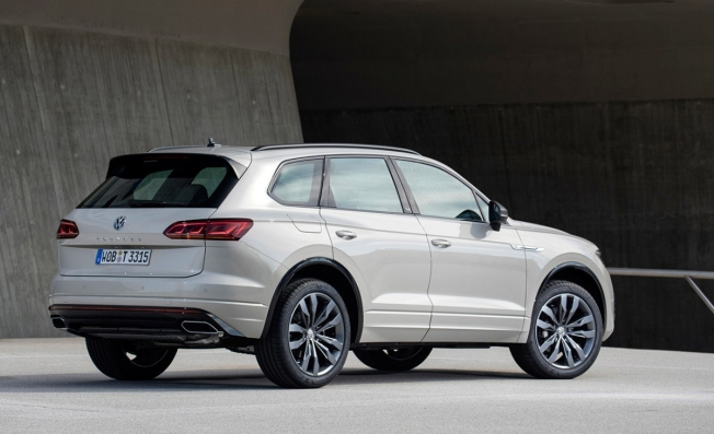 Volkswagen Touareg ONE Million - posterior