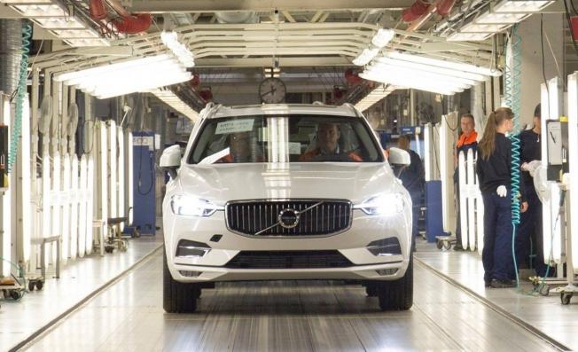 Producción del Volvo XC60