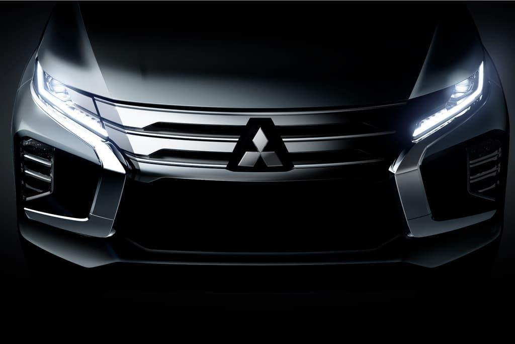 Mitsubishi adelanta el frontal del nuevo Montero Sport 2020