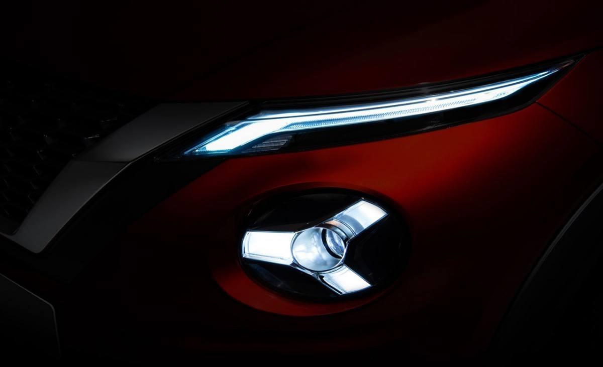 Nissan Juke 2020, un teaser desvela cómo serán sus faros