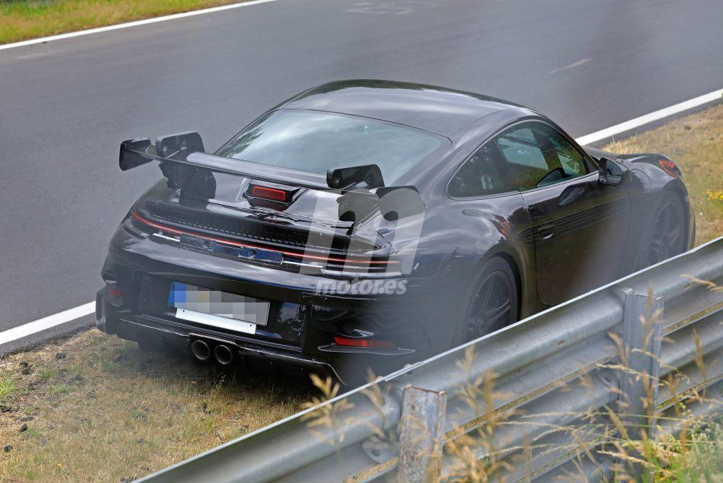 Un prototipo averiado del Porsche 911 GT3 nos permite acercarnos a su secreto alerón