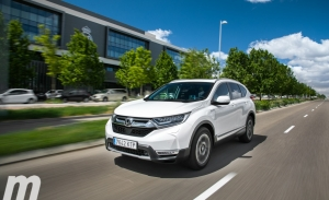 Prueba Honda CR-V Hybrid, un duro rival para el RAV4