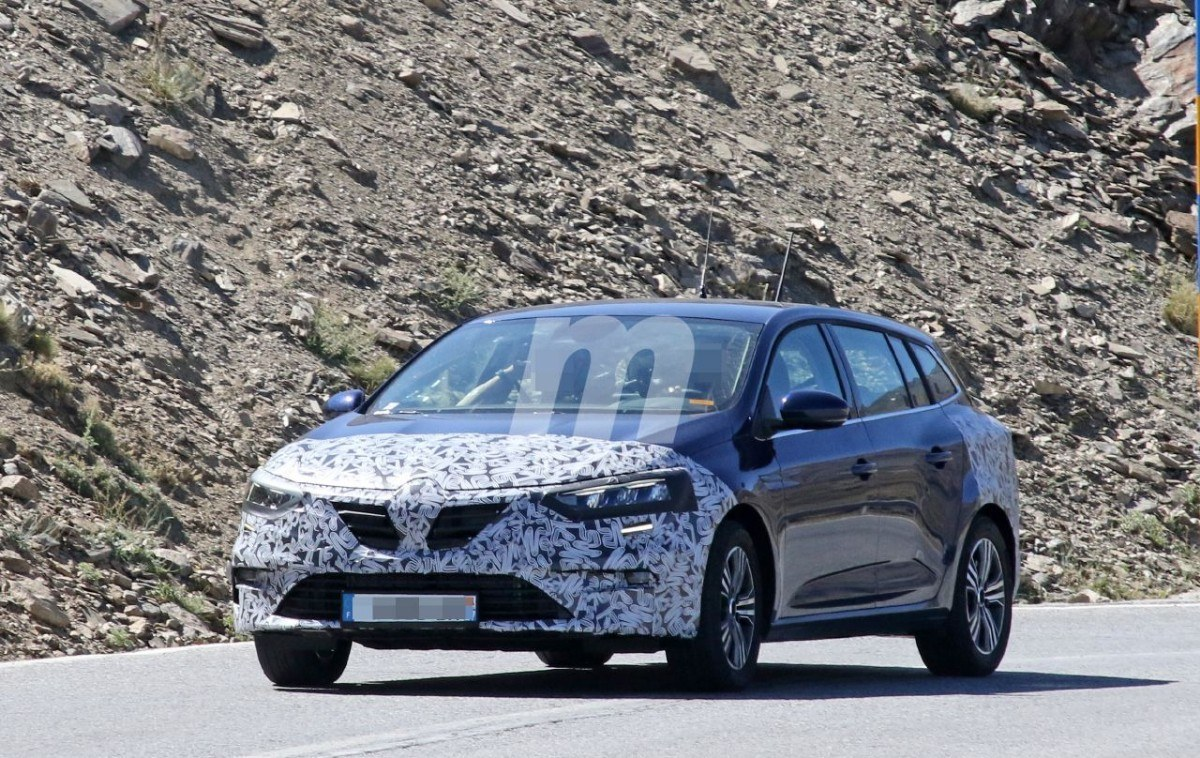 Renault trabaja en el facelift de la variante familiar del Megane Sport Tourer