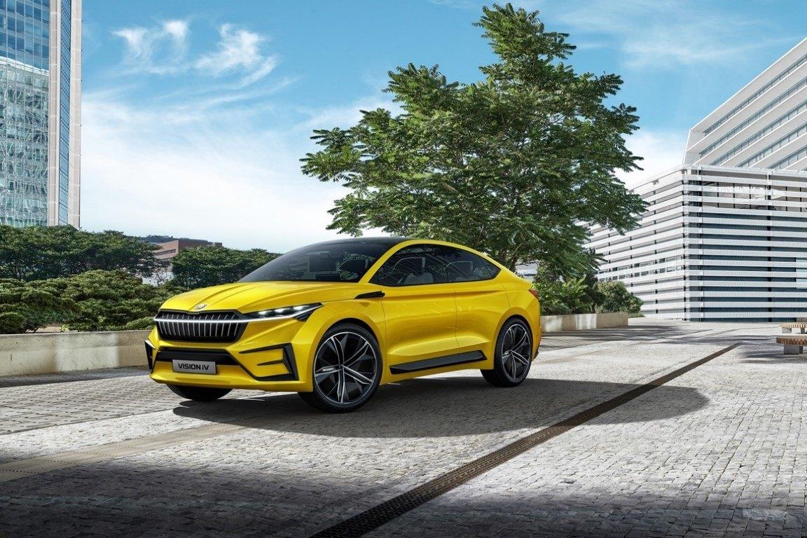 Škoda inicia las ventas del nuevo Vision iV en Noruega