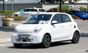 Smart EQ ForFour 2020, el «facelift» del coche eléctrico urbano está en marcha