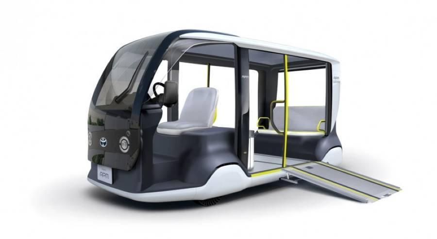 Toyota llevará este coche eléctrico a los Juegos Olímpicos de Tokio 2020