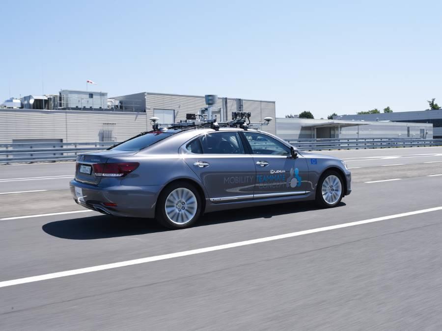 Toyota prueba sus prototipos de coches autónomos en Europa