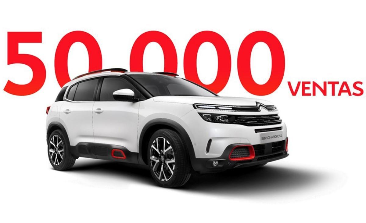 El nuevo Citroën C5 Aircross supera las 50.000 unidades vendidas