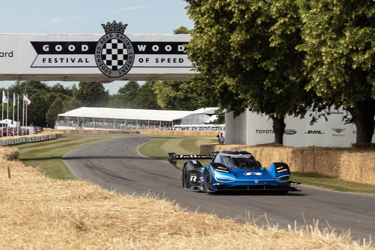 El Volkswagen ID. R logra el récord absoluto de Goodwood