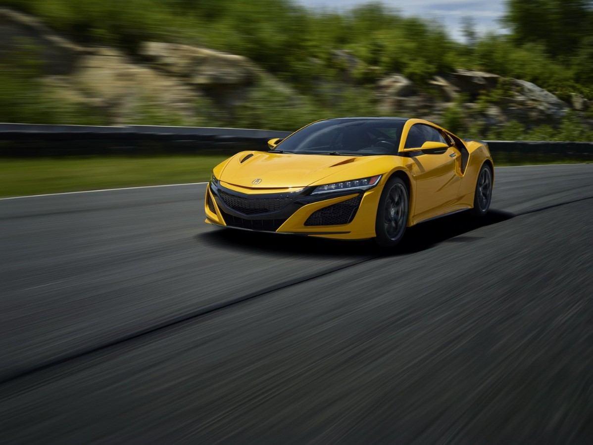 El nuevo Acura NSX 2020 estrena el color amarillo Indy Yellow Pearl