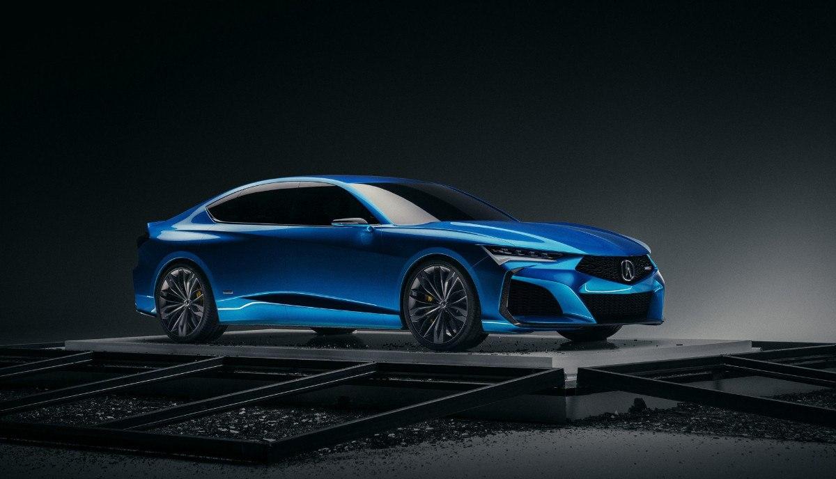 El atractivo Acura Type S concept nos adelanta el futuro TLX Type S