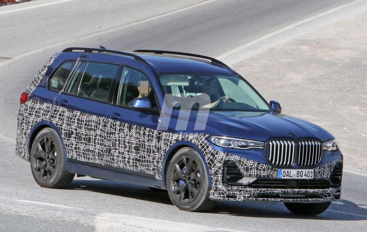 El nuevo Alpina XD7 (BMW X7) ya rueda con su configuración definitiva