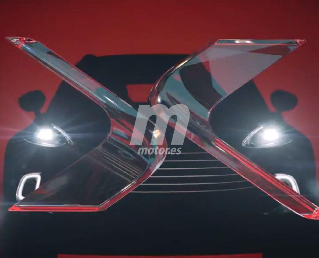 Aston Martin desvela parte del diseño frontal del nuevo DBX en un primer teaser