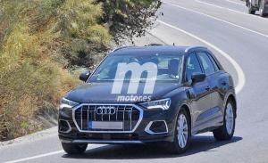 Primeras fotos espía del nuevo Audi Q3 TFSI e, la versión híbrida enchufable del SUV